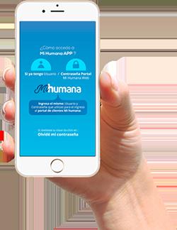 pantalla celular MiHumana