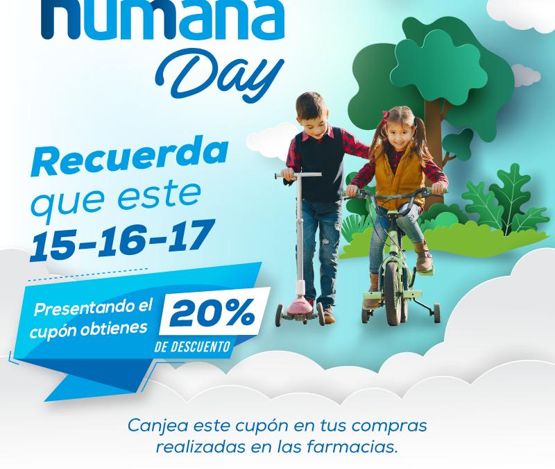 Humana Day Farmacias Económicas y Medicity